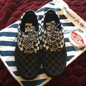 Vans customs checkerboard comfy Cush sneakers